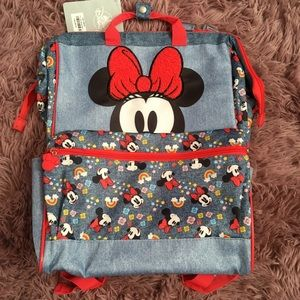 NWT Disney Store Minnie Mouse backpack